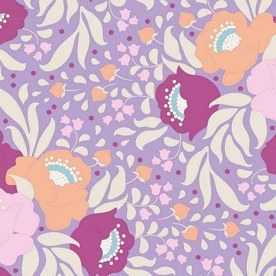 Tilda Plum Garden - Autumn Bouquet, Lavender
