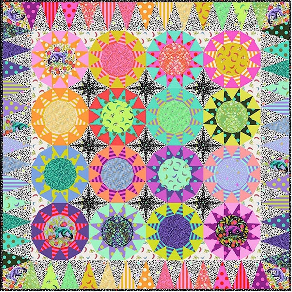 Tula Sunrise EPP Quilt Kit by Tula Pink for Free Spirit Fabrics