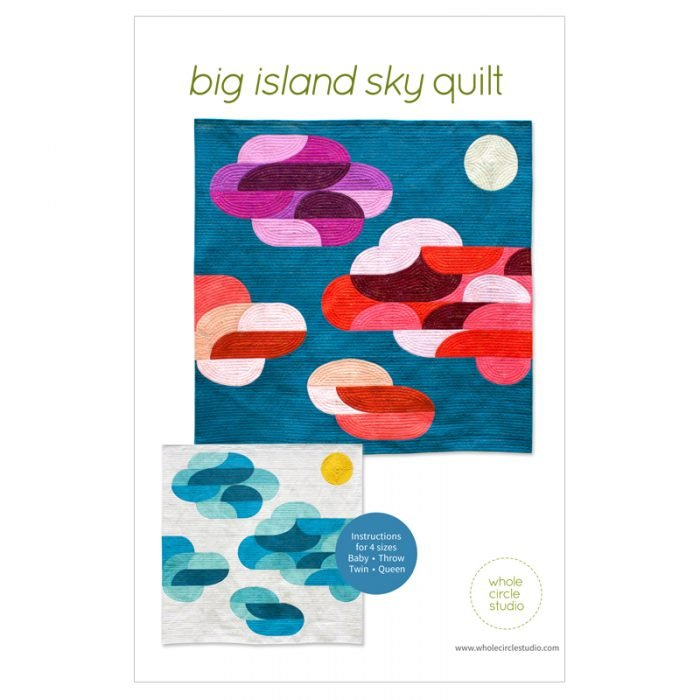Big Island Sky Quilt Pattern by Whole Circle Studio