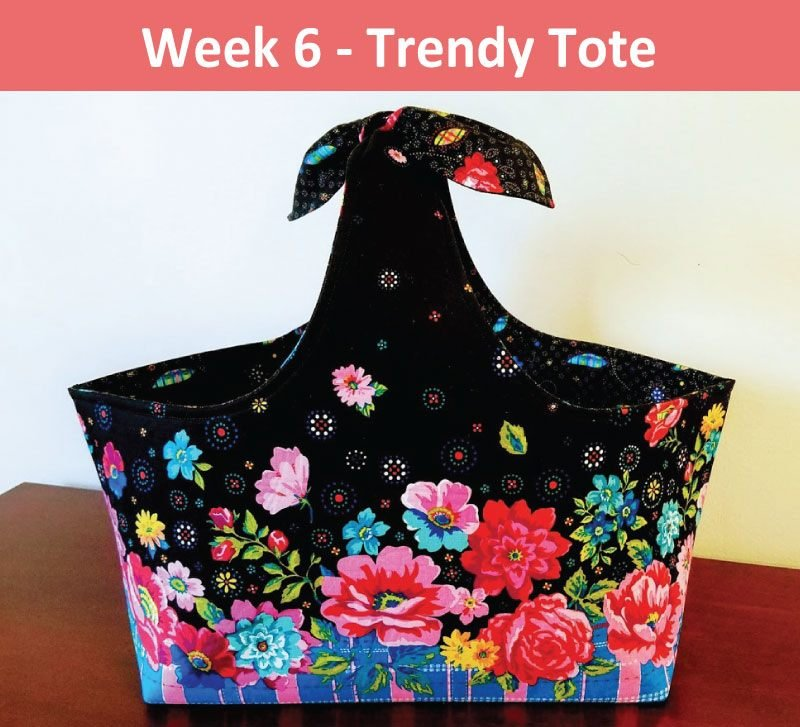 Project Sheet - Trendy Tote Pattern