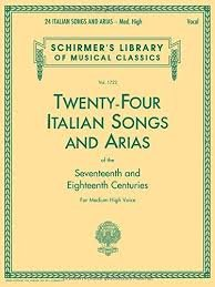 24 Italian Songs & Arias of the 17th & 18th Centuries - Med High Voice