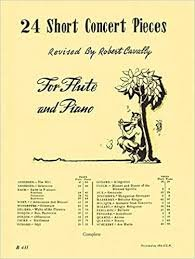 24 Short Concert Pieces Flute - Cavally