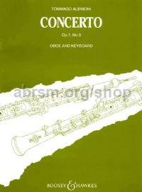 Concerto Op. 7 No. 3 - oboe - Albinoni