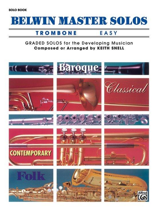 Belwin Master Solos, Easy Vol 1- trombone