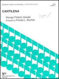 Cantilena - Clarinet - Handel/Buchtel