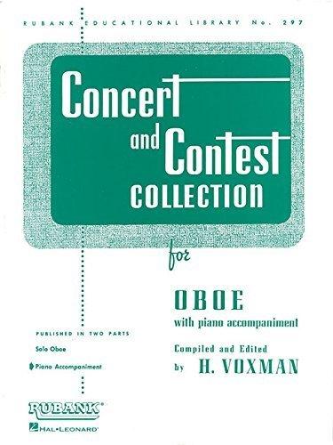 Concert & Contest for Oboe  - Piano Accomp. - Voxman