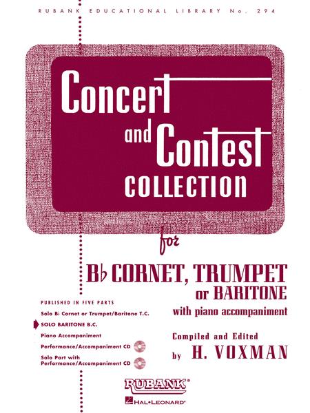 Concert & Contest Collection for trumpet, cornet, or Baritone horn (treble clef) - Voxman