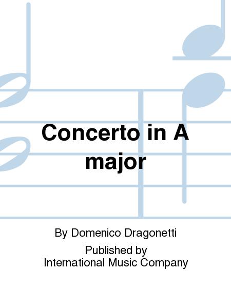 Concerto in A major - Bass - Dragonetti