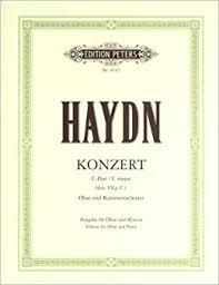 Concerto in C major - oboe - Haydn