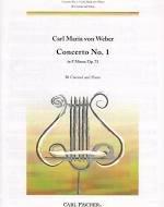 Concerto No.1 in F minor, Op. 73 - Clarinet - Weber