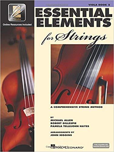 Essential Elements Viola Book 2