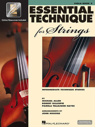 Essential Elements Viola Book 3