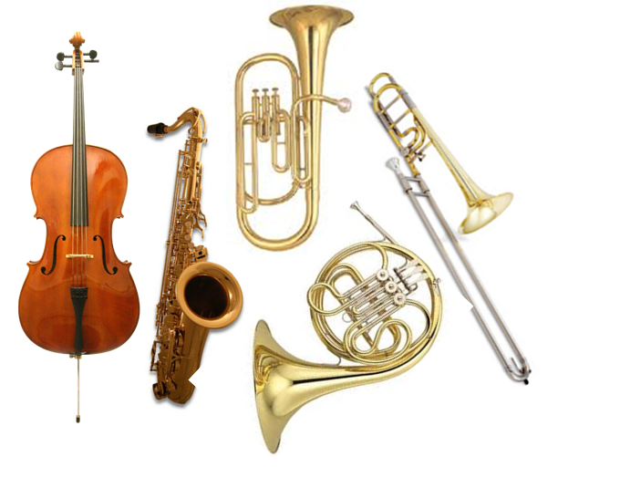 C+) School Yr. Rental + Repair Coverage - Tenor Saxophone, Cello, French Horn (Single), Baritone Horn, F-Attachment Trombone -