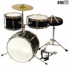 WJM BLACK Junior Drum Set