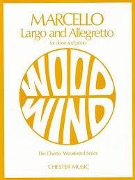 Largo e Allegretto - oboe - Marcello
