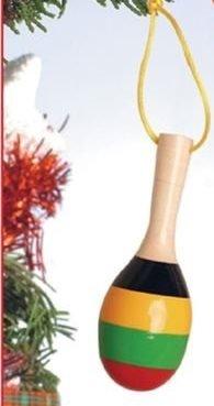 Maraca Ornament