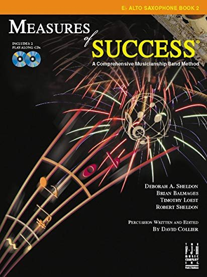 Measures of Success Book 2 Alto Sax