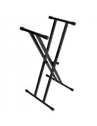 On Stage Double X keyboard Stand