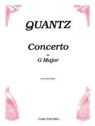 Concerto in G - flute - Quantz