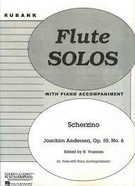 Scherzino - Flute - Anderson