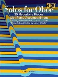 Solos for Oboe: 30 Repertoire Pieces - oboe - Labate/Clauter