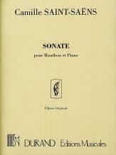 Sonate, Op. 166 - oboe - Saint-Saens