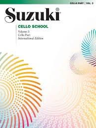 Suzuki Cello School Vol 3