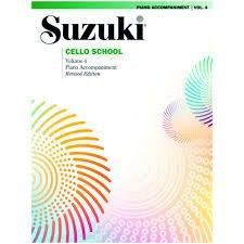 Suzuki Cello School Vol 4