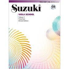 Suzuki Viola School Vol 3