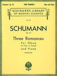Three Romances, Op. 94,  - oboe - Schumann