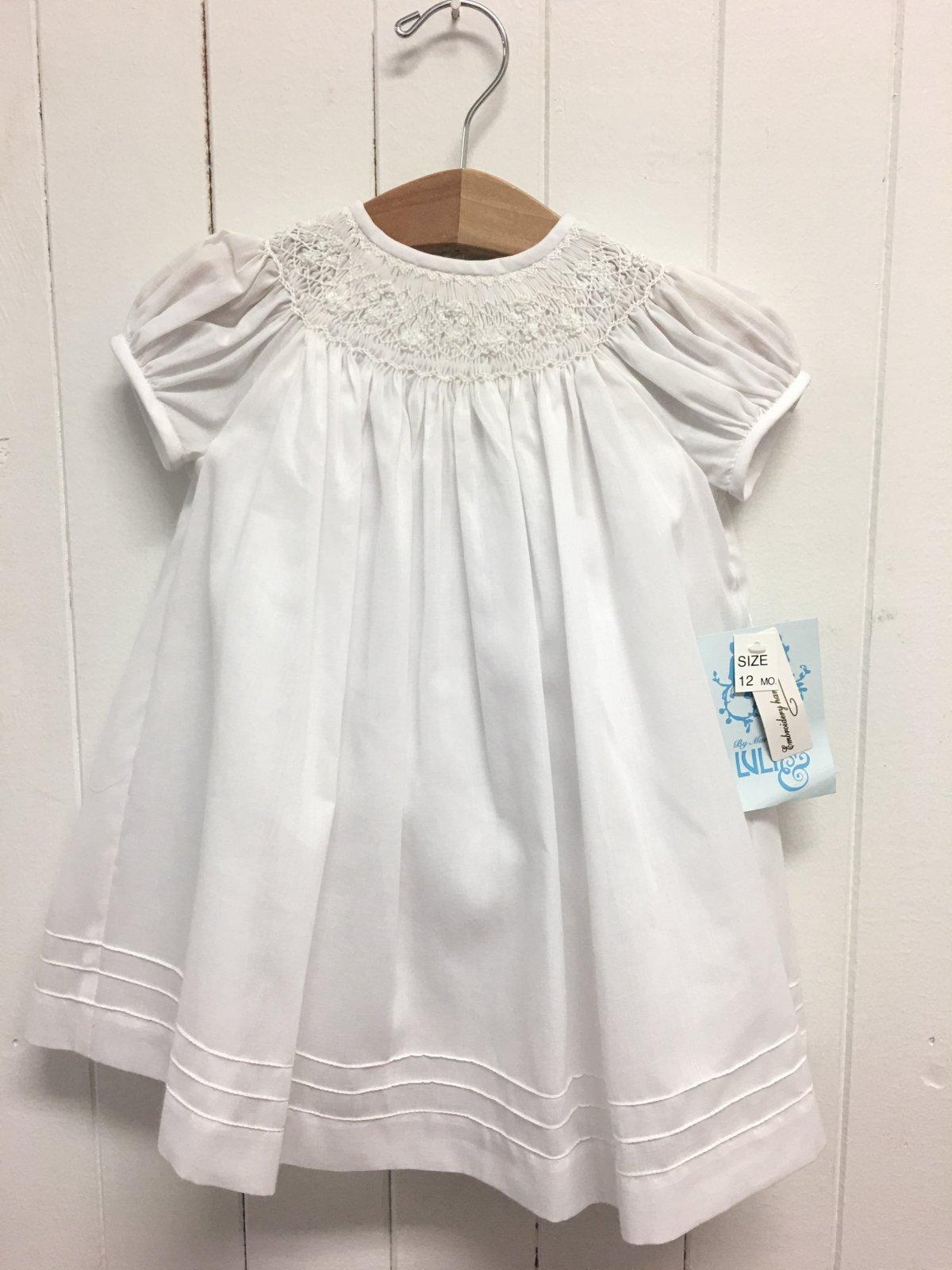 Bishop Organdi Dress