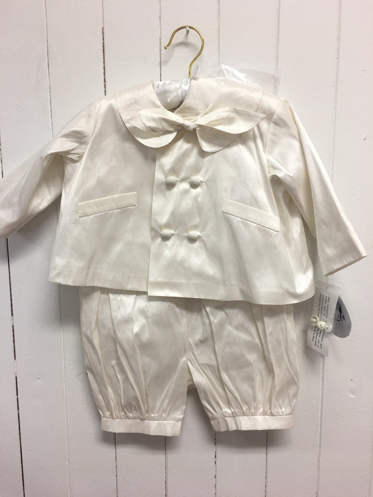 Ceremonial Suit Cream
