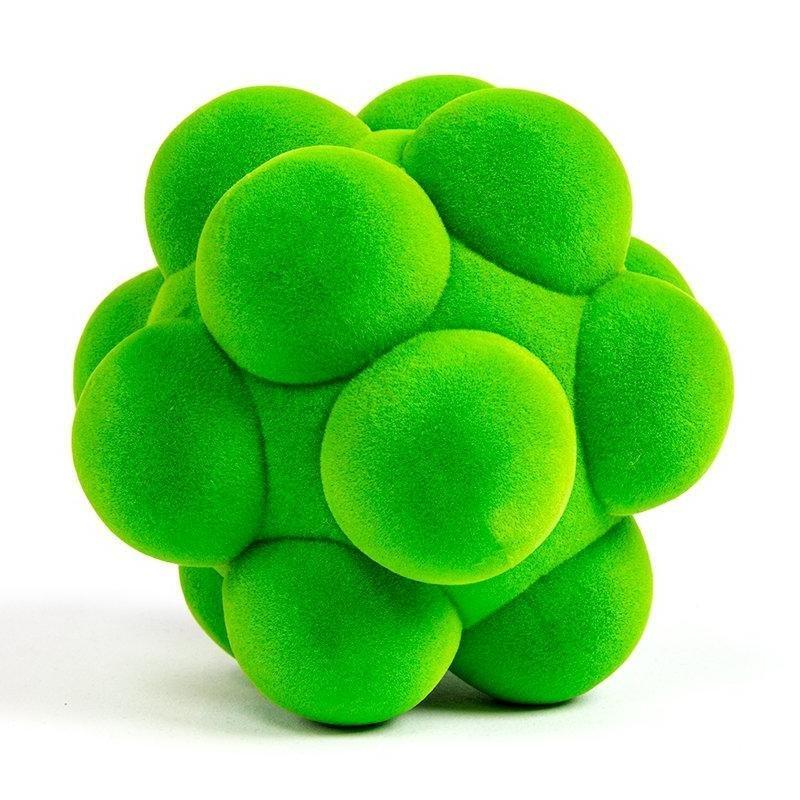 Mini Green Bubble Ball Natural Rubber Foam 3
