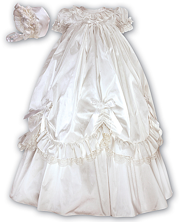 Ceremonial 4pc Gown Ivory