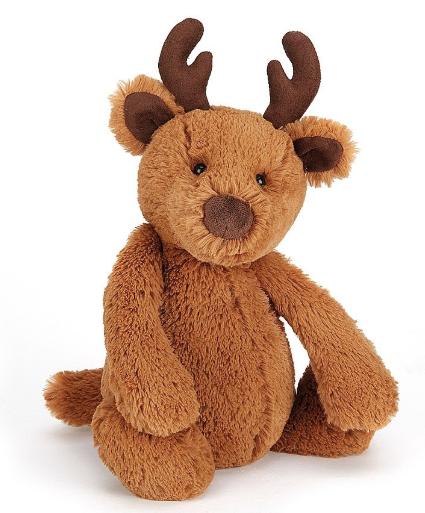 Light Brown Bashful Reindeer