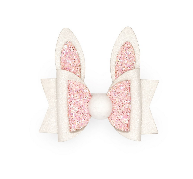 Bunny Ear Bow Clip