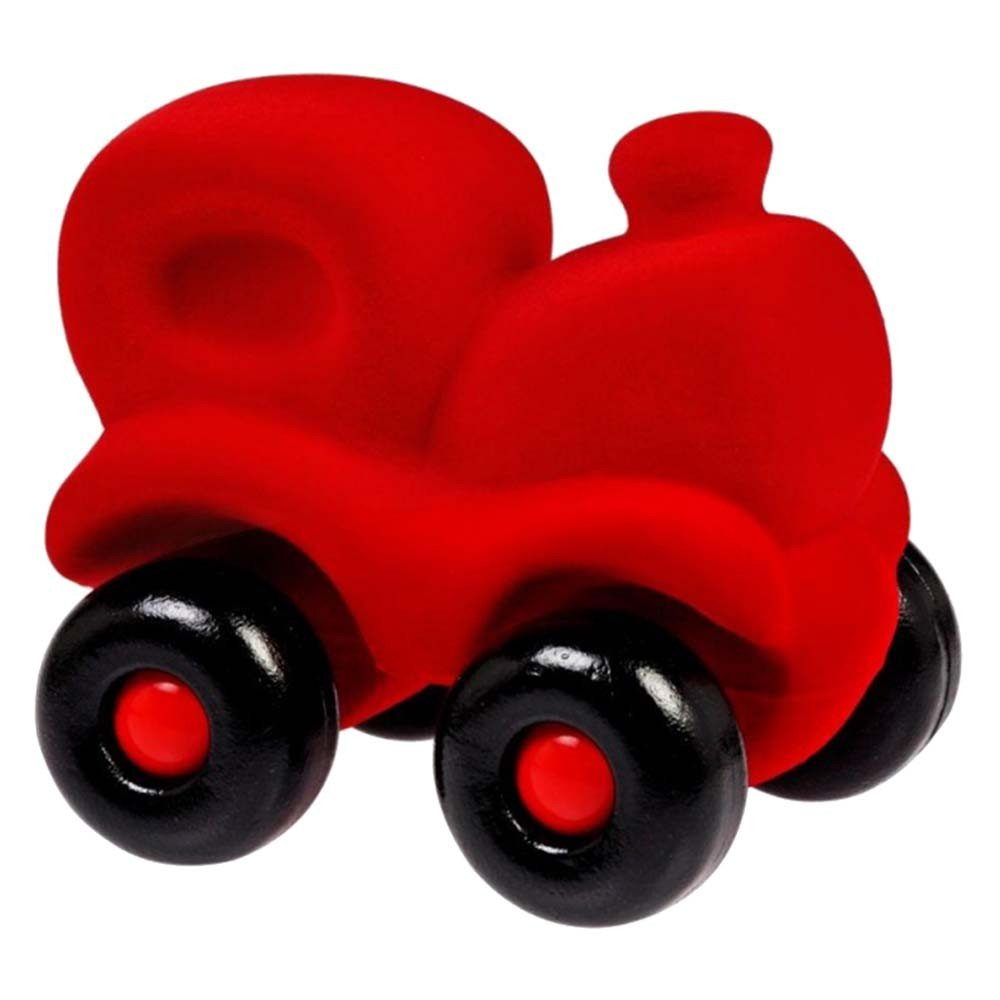 Large Red Train Natural Rubber Foam
