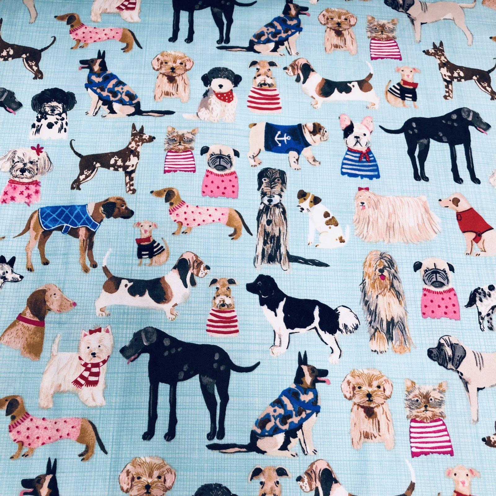 Windham Fabrics Hotdogs & Cool Cats