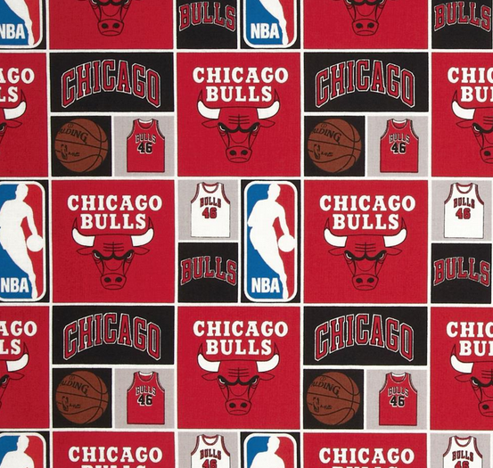 NBA Chicago Bulls Red