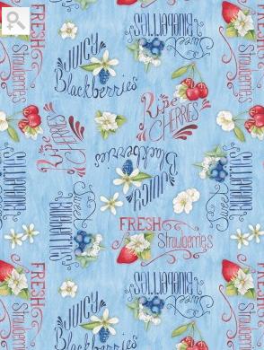 Willmington Prints Berry Sweet 13003 434