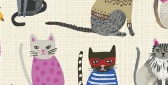 Windham Fabrics Hot Dogs and Cool Cats 42080
