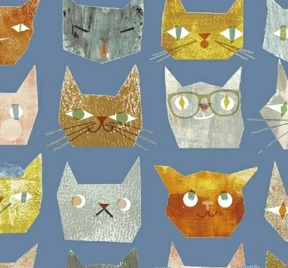 Windham Fabrics Smarty Cats