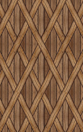 Blank Quilting Covered Bridges Brown