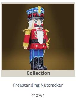 OESD Freestanding Nutcracker