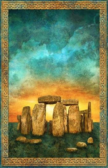 Stonehenge Solstice Panel 39427-69