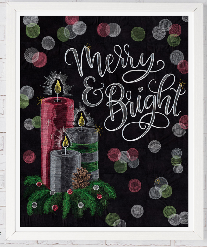 Merry and Bright Tiling Scene CD