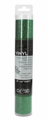 OESD Luxe Sparkle Vinyl DARK GREEN