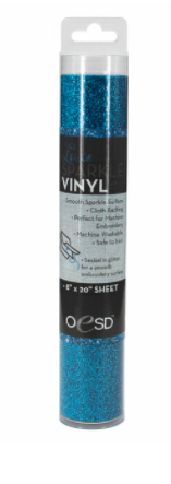 OESD Luxe Sparkle Vinyl BLUE