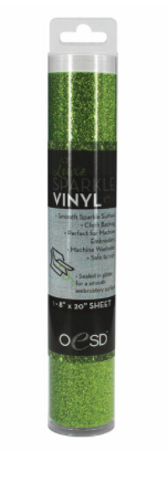 OESD Luxe Sparkle Vinyl Grass Green