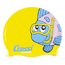Cressi Junior Silicone Swim Cap